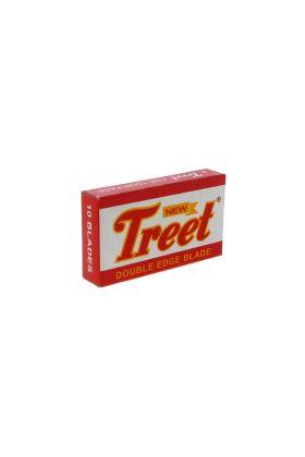 Ανταλλακτικά ξυραφάκια Treet New σε συσκευασία με 10 ξυραφάκια