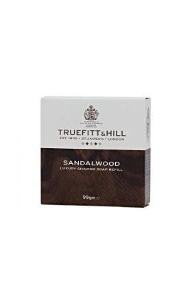Truefitt & Hill Sandalwood Shaving Soap 99gr Refill. Διατίθεται χωρίς μπολ.