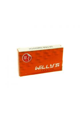 Ανταλλακτικά ξυραφάκια Willy's Premium - Συσκευασία με 10 ξυραφάκια